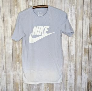 Nike Swoosh Spellout Ombre XS T-shirt